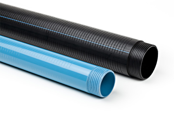 Drainage Pipes in PVC and Polyethylene